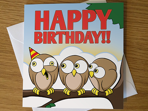 Cartoon Greeting Cards