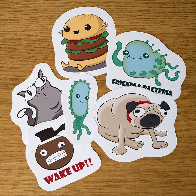 Illustration STicker Pack