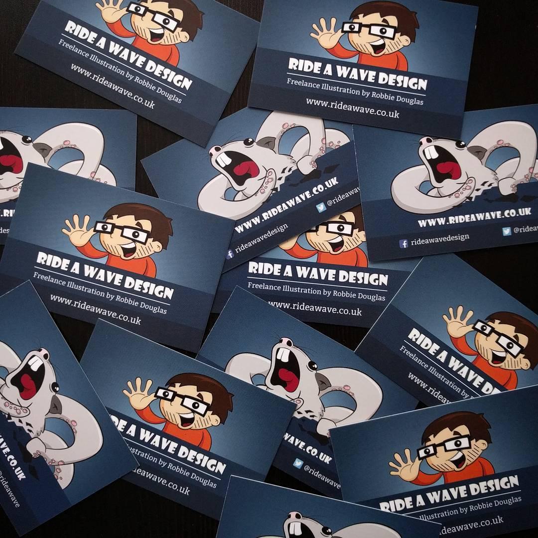 Freelance Illustrator Business Cards