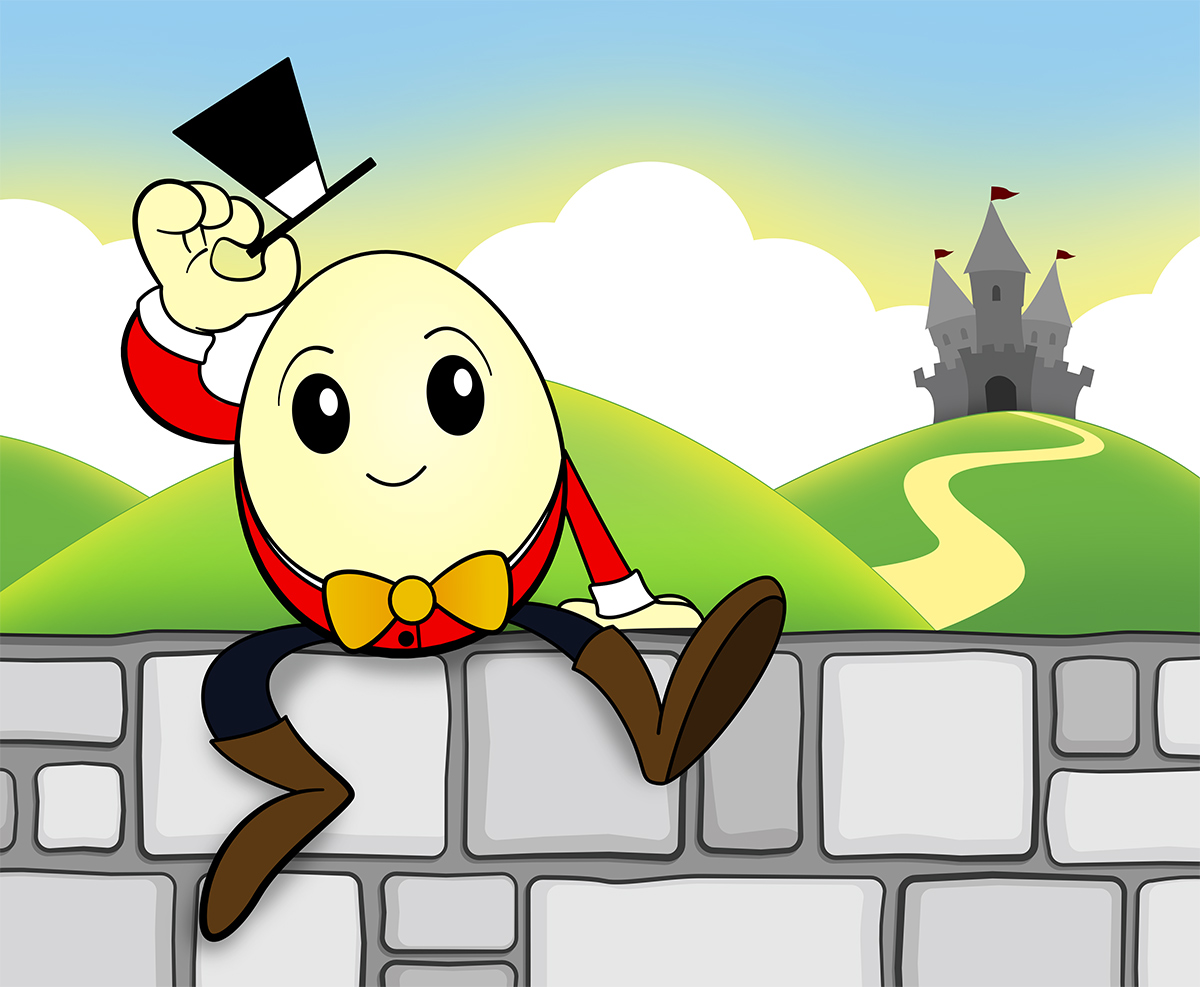 Humpty Dumpty Illustration