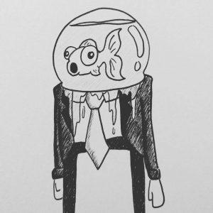 mr fishman illustration