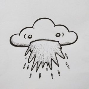 rain cloud illustration