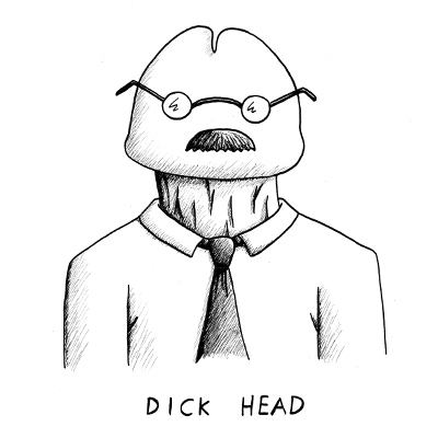 Dick Head Abusive Art