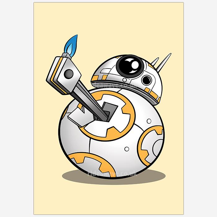 BB-8 Star Wars Thumbs Up
