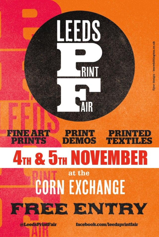 Leeds Print Fair 2017