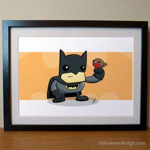 Batman and Robin art print