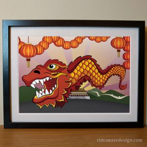 Chinese New Year art print