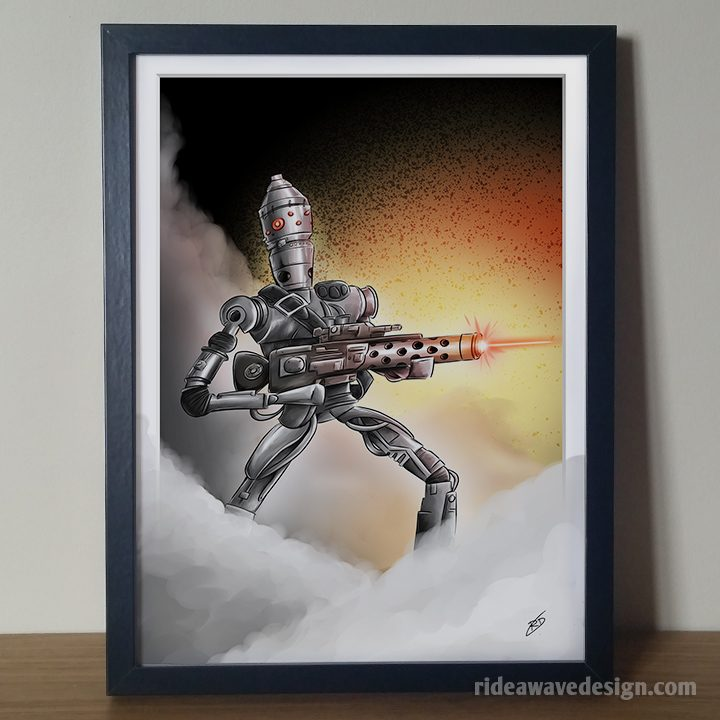 IG88 Star Wars art print