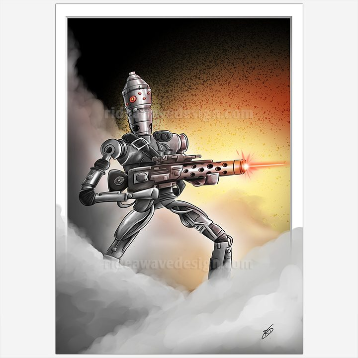IG88 Star Wars illustration print