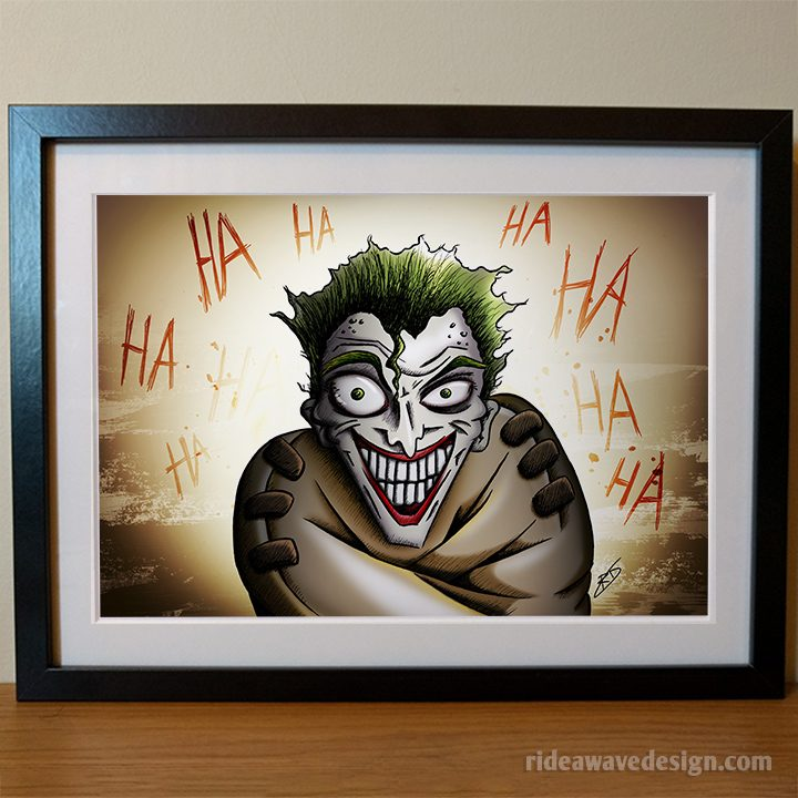 Joker Batman art print
