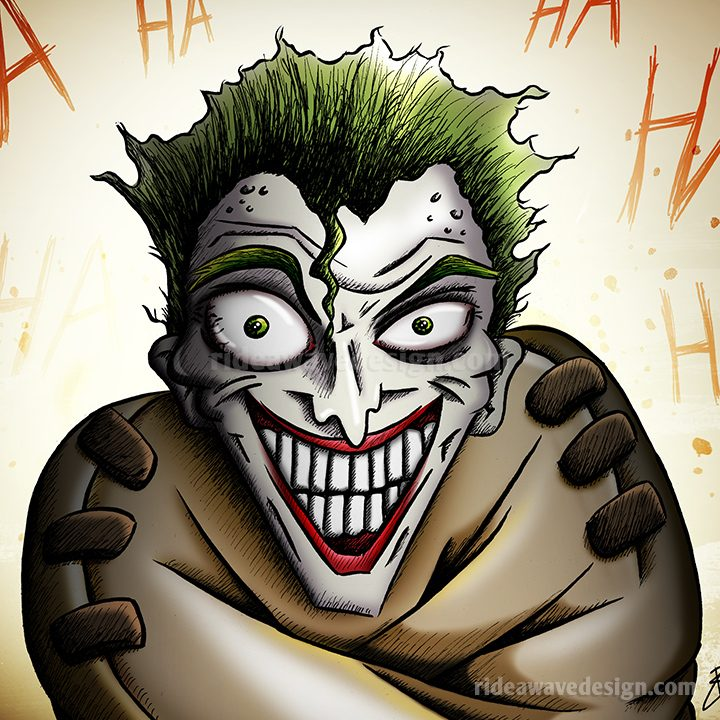 Joker Batman illustration