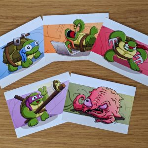 Ninja Turtles art prints