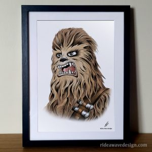 Star Wars Chewbacca Illustration