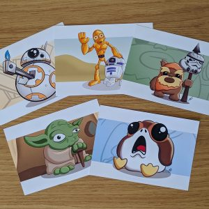 Star Wars art prints