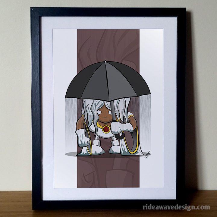 Storm xmen art print