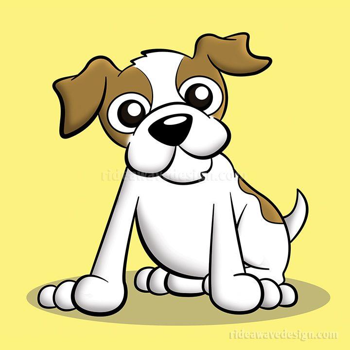 Terrier cartoon