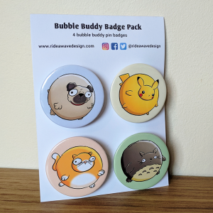 Bubble Buddy Badge Pack