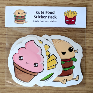Cute Food Sticker Pack
