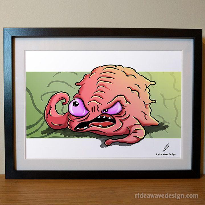 Krang TMNT Art Print