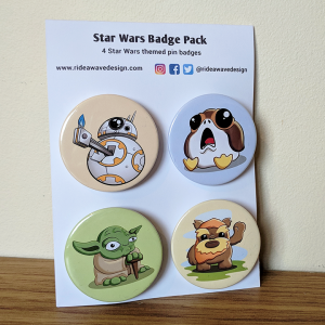 Star Wars Badge Pack