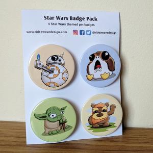 Star Wars Badge Pack