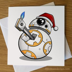 BB-8 Star Wars Christmas Card