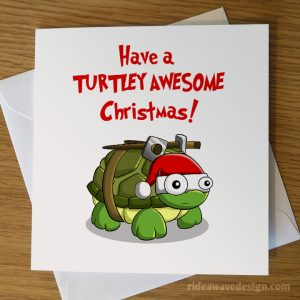 Ninja Turtles Christmas Card