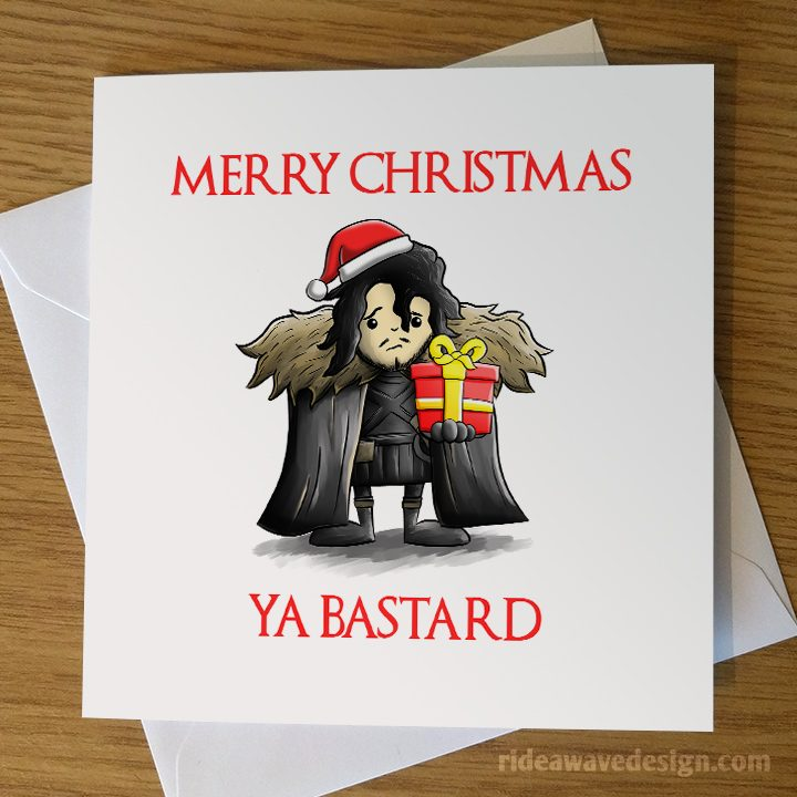 Funny Game of Thrones Christmas Card
