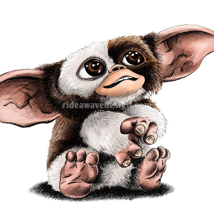 gizmo gremlins illustration