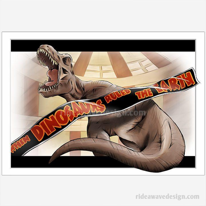 Jurassic Park Movie Print
