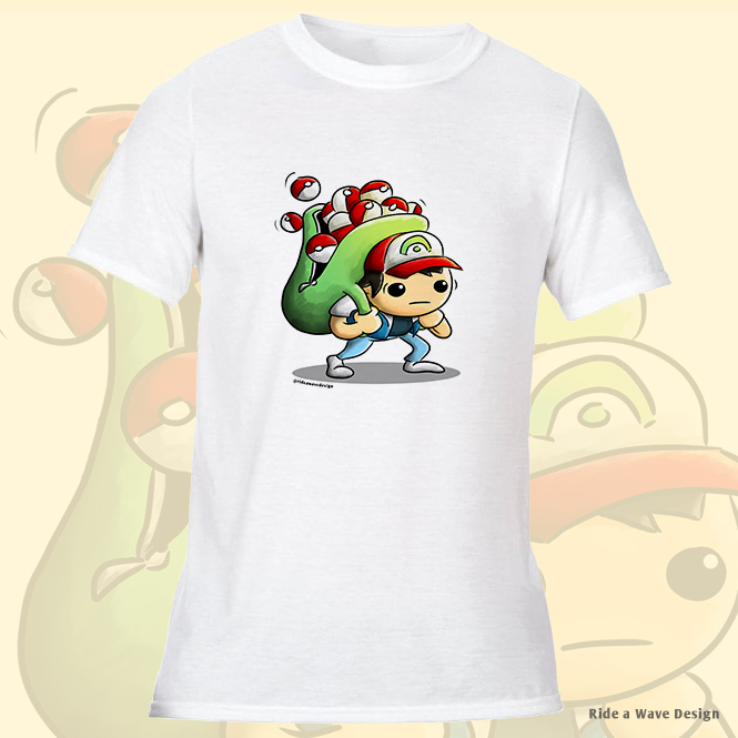 Ash Ketchum Pokémon T-Shirt