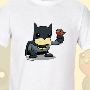Cartoon Batman and Robin T-Shirt
