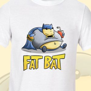 Fat Batman T-Shirt