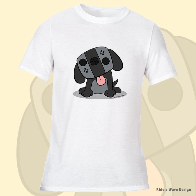 Nintendo Switch Dog T-Shirt
