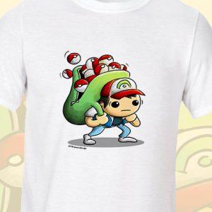 Pokémon Ash Ketchum T-Shirt