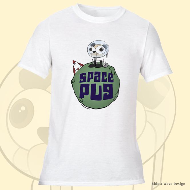 Space Pug T-Shirt