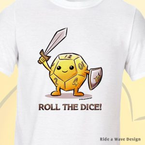 Dice Hero DnD T-Shirt