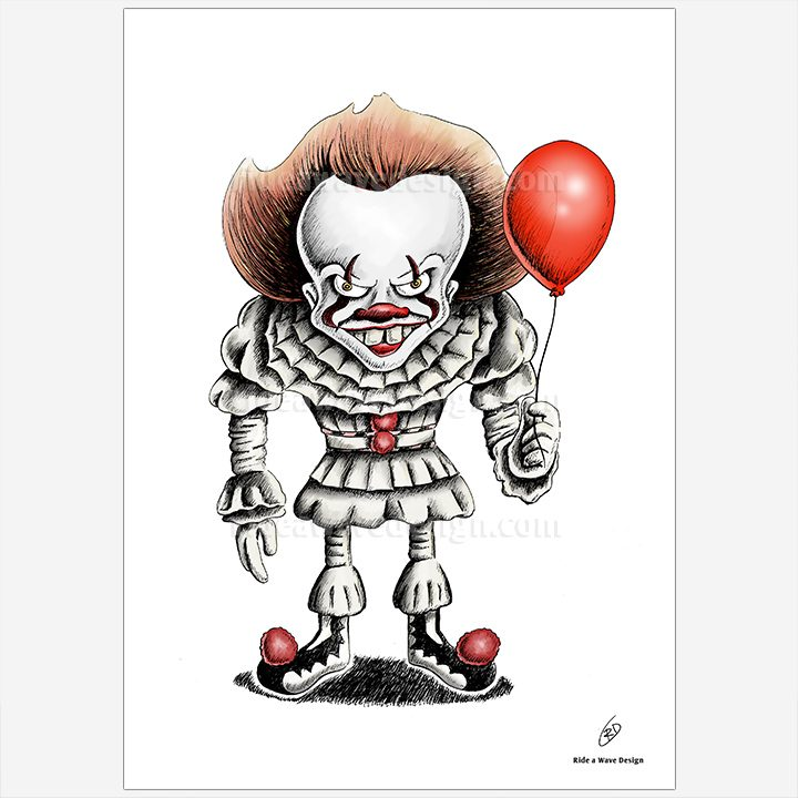 IT Pennywise Art Print