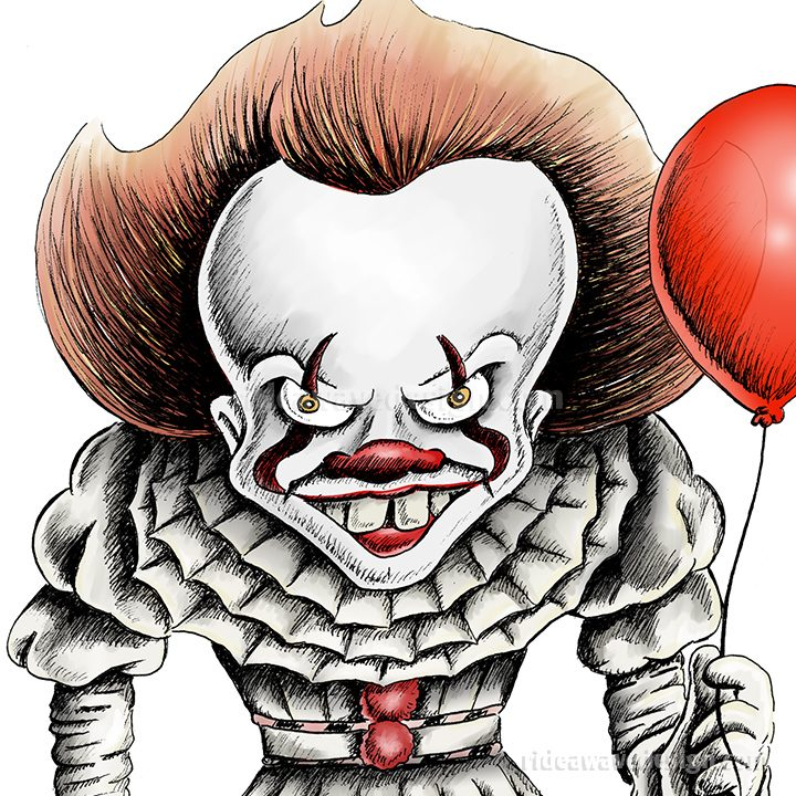 IT Pennywise Illustration