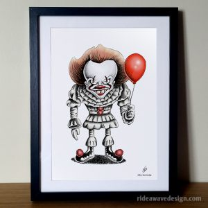 IT Pennywise the Clown Movie Poster