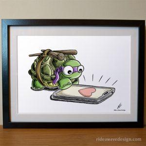 Donatello TMNT Art Print