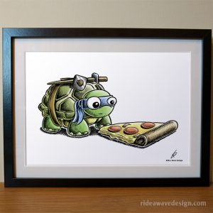 Leonardo TMNT Art Print