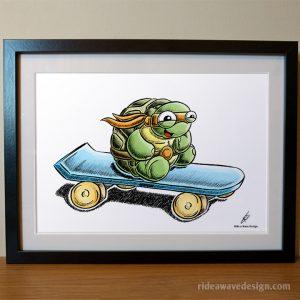 Michelangelo TMNT Art Print