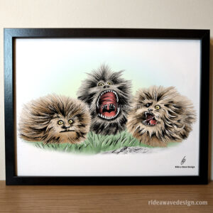 Fizzgig Dark Crystal Art Print